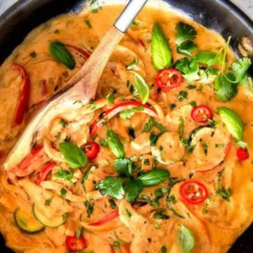 Thai Chicken Curry, Friday Night Snacks and More...