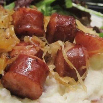 Kielbasa and Sauerkraut, Friday Night Snacks and More...