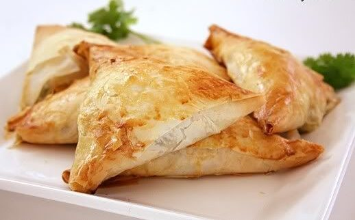 Greek Spanakopita Triangles, Friday Night Snacks and More...