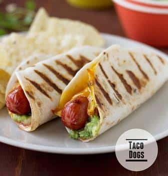 Mexican Hot Dogs, Friday Night Snacks and More...