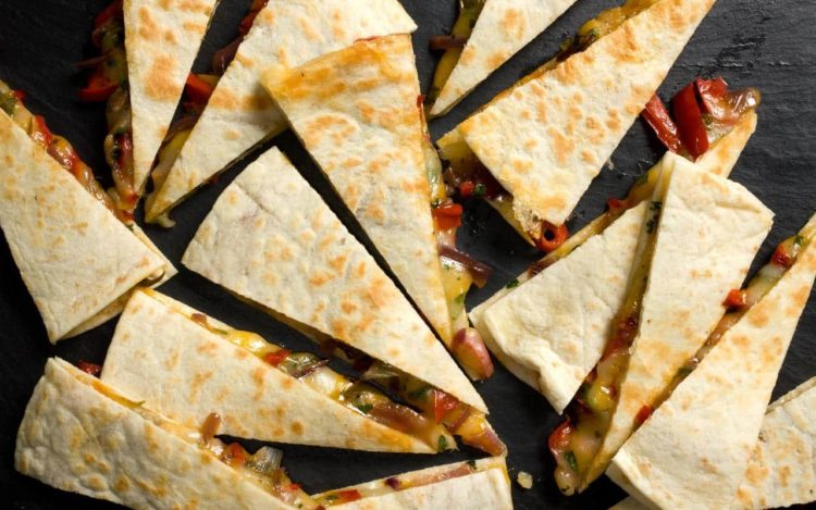 Chile and Corn (Rajas) Quesadillas, Friday Night Snacks and More...