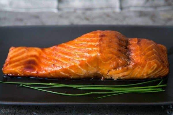 Sake Ginger Glazed Salmon, Friday Night Snacks and More...