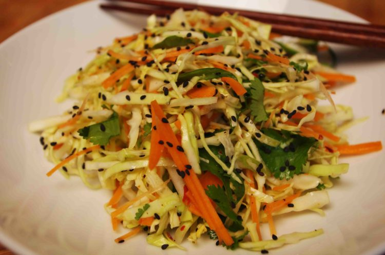 Asian Coleslaw, Friday Night Snacks and More...