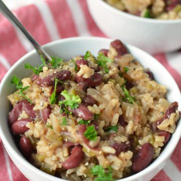 Slow Cooker Vegan Red Beans and Rice, Friday Night Snacks and More...