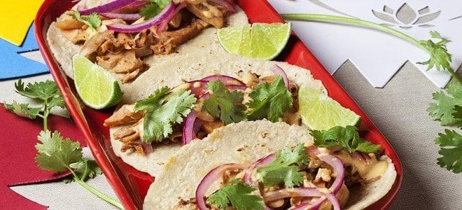 Jackfruit Vegetarian Pork Style Tacos al Pastor, Friday Night Snacks and More...