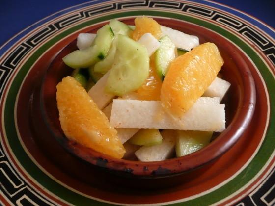 Jicama Mandarin Orange Salad, Friday Night Snacks and More...