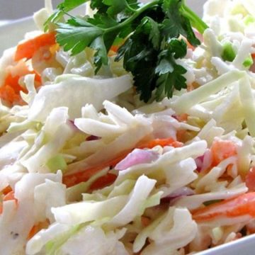 Blue Cheese Coleslaw, Friday Night Snacks and More...