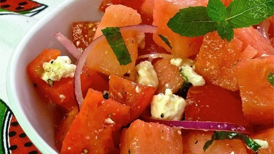 Tomato Watermelon Salad, Friday Night Snacks and More...