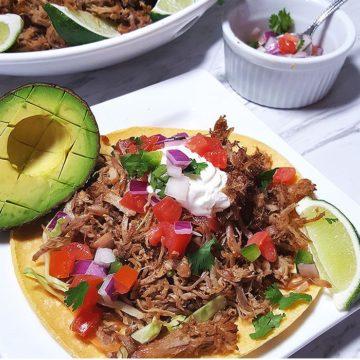 Crispy Pressure Cooker Pork Carnitas, Friday Night Snacks and More...