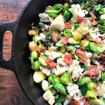 Brussels Bacon & Cauliflower, Friday Night Snacks and More...