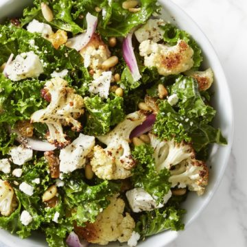 Roasted Cauliflower, Baby Kale and Cucumber Salad, Friday Night Snacks and More...
