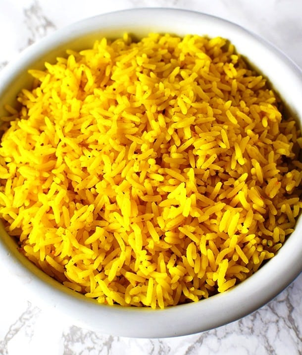 Easy Yellow Rice, Friday Night Snacks and More...