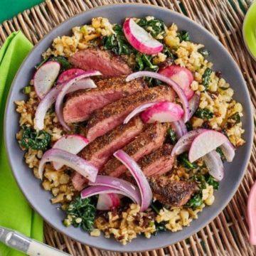 Garlic-Paprika Strip Steaks, Friday Night Snacks and More...