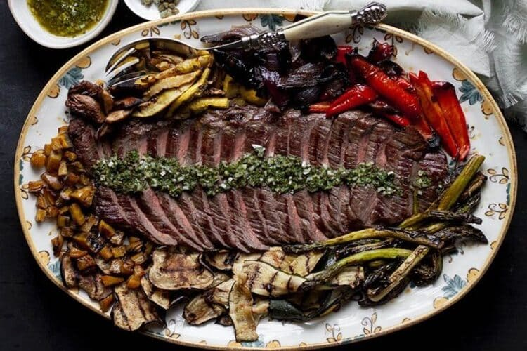Crusty Skirt Steak with Salsa Verde, Friday Night Snacks and More...