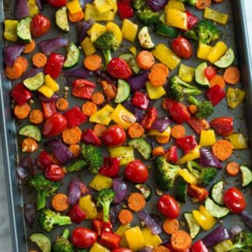 Roasted Vegetables, Friday Night Snacks and More...