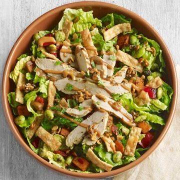 Panera Spicy Thai Chicken Salad, Friday Night Snacks and More...