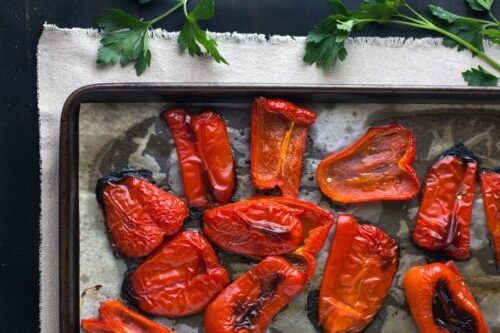 Roasted Red Bell Pepper Sauce, Friday Night Snacks and More...