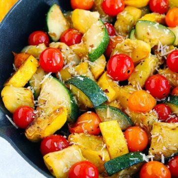 Sautéed Zucchini and Cherry Tomatoes, Friday Night Snacks and More...