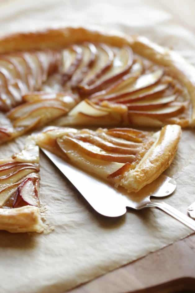 Easy Pear Tart with Puff Pastry, Friday Night Snacks and More...