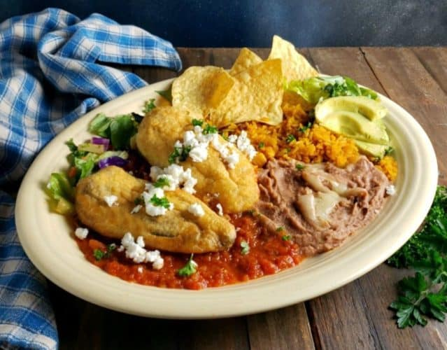 Chile Relleno, Friday Night Snacks and More...