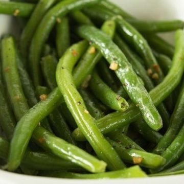 Fool-Proof Green Beans, Friday Night Snacks and More...