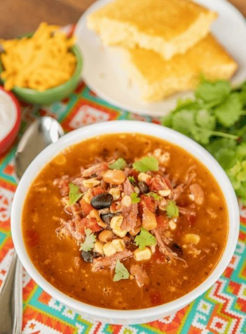 Pulled Pork Taco Soup, Friday Night Snacks and More...
