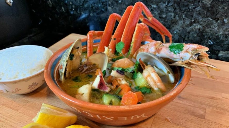 Caldo Siete Mare Seafood Soup, Friday Night Snacks and More...