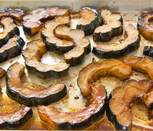 Maple and Spice-Roasted Winter Squash, Friday Night Snacks and More...