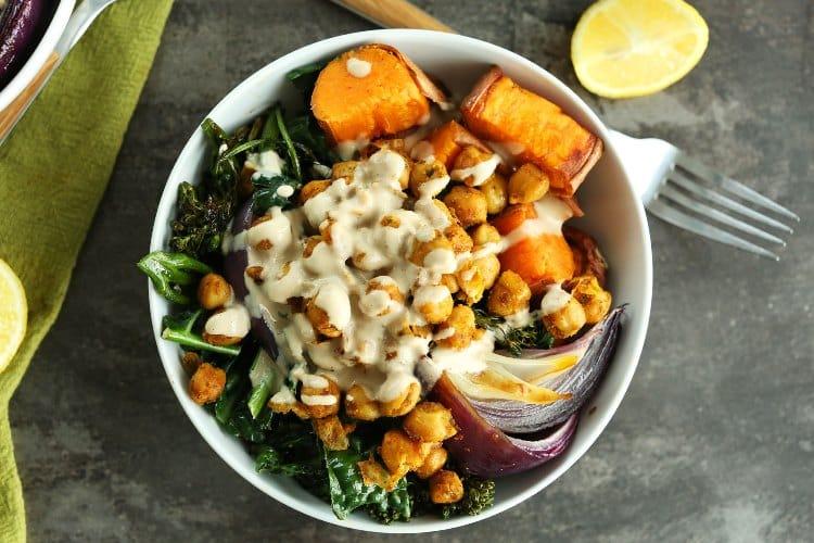Sweet Potato Chickpea Buddha Bowl, Friday Night Snacks and More...