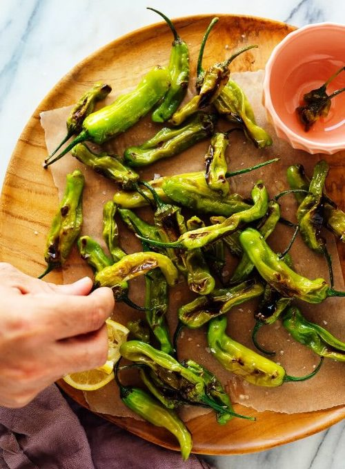 Blistered Shishito Peppers, Friday Night Snacks and More...
