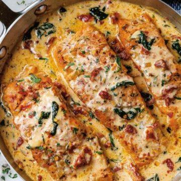 Tuscan Salmon, Friday Night Snacks and More...