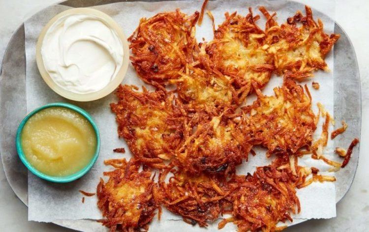 Sweet Potato Latkes, Friday Night Snacks and More...