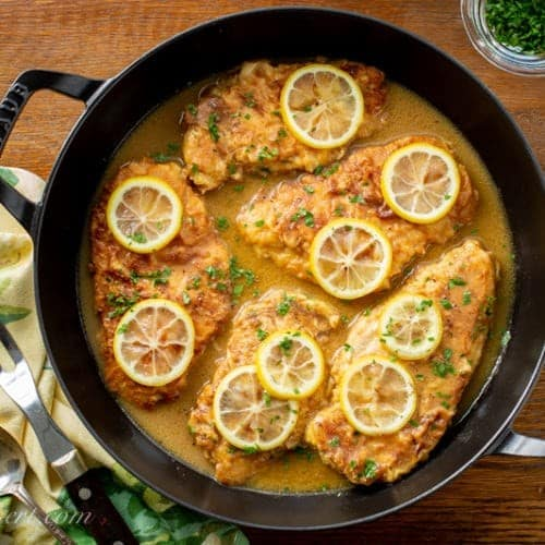 Chicken Francese, Friday Night Snacks and More...