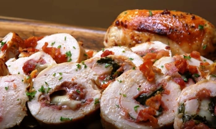 Sous Vide Chicken Roulade, Friday Night Snacks and More...