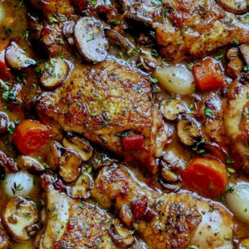 Coq au Vin, Friday Night Snacks and More...
