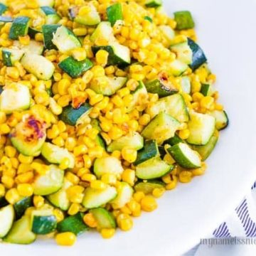 Sauted Corn and Zucchini, Friday Night Snacks and More...