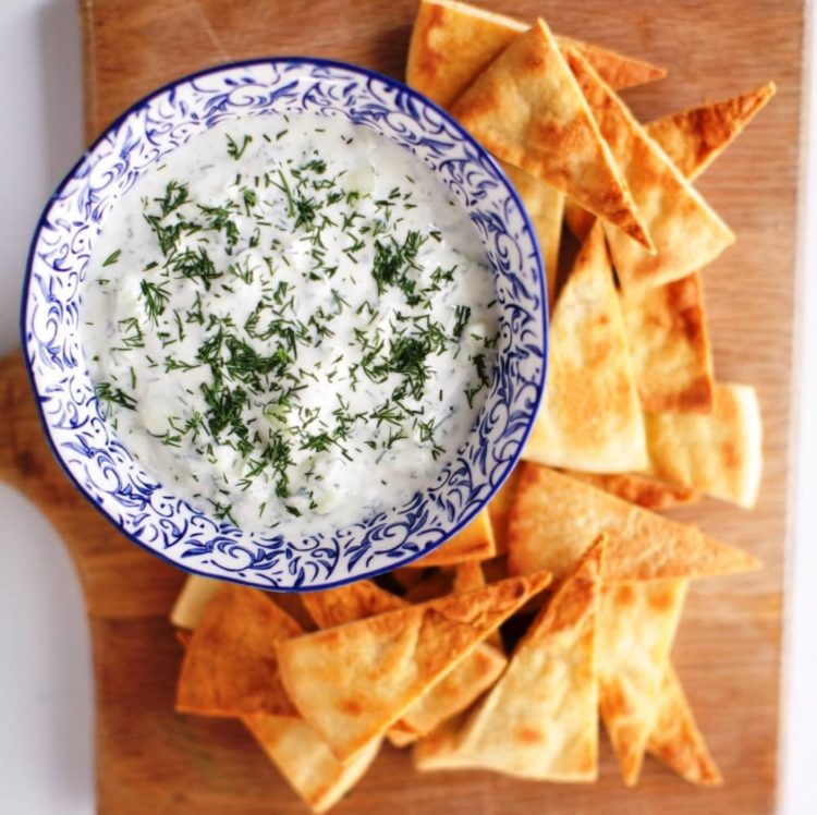 Cucumber Dill Tzatziki, Friday Night Snacks and More...