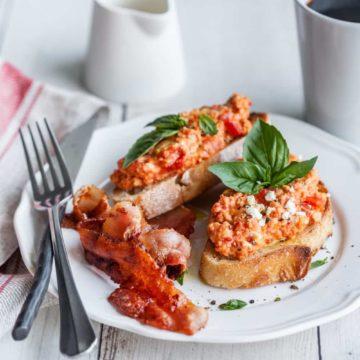 Strapatsada Greek Scrambled Eggs, Friday Night Snacks and More...