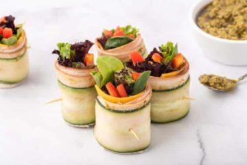 Turkey Pesto Lettuce Wraps 2