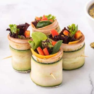 Low Carb Turkey Pesto Roll Up, Friday Night Snacks and More...