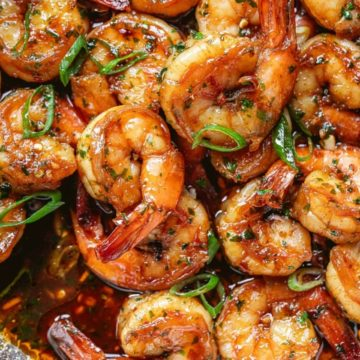 Browned Butter Honey Garlic Shrimp, Friday Night Snacks and More...