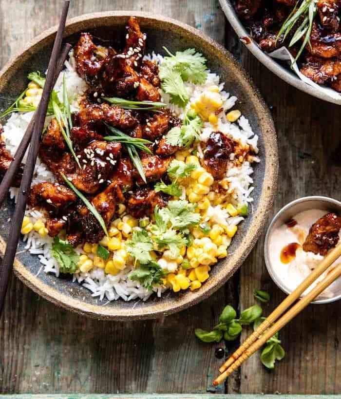 Korean Bulgogi BBQ Chicken, Friday Night Snacks and More...