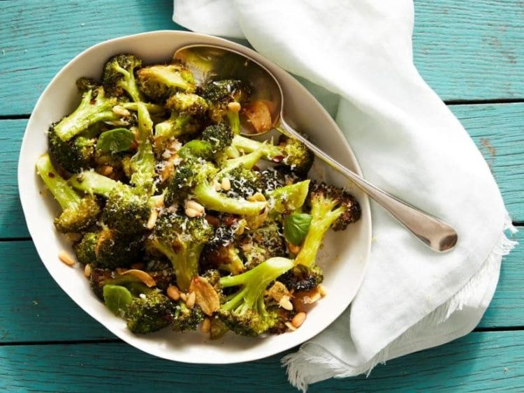 Parmesan-Roasted Broccoli, Friday Night Snacks and More...