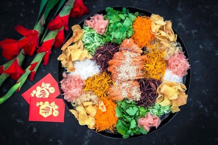 Yee Sang (Prosperity Toss Salad), Friday Night Snacks and More...