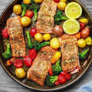 zaatar garlic salmon