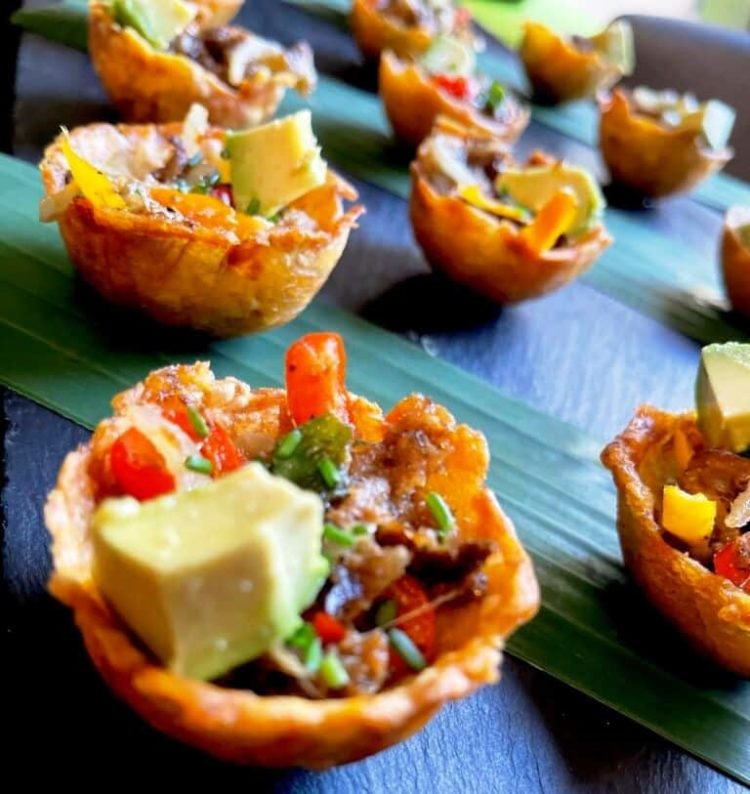 Stuffed Plantain Cups, Friday Night Snacks and More...