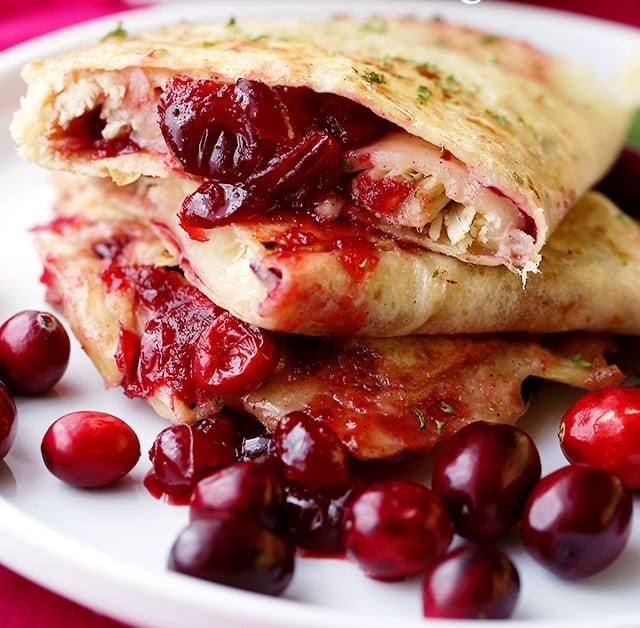 Cranberry Turkey Quesadillas, Friday Night Snacks and More...