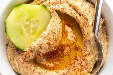 keto paleo roasted cauliflower hummus recipe