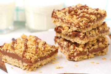 no bake chocolate oat bars3