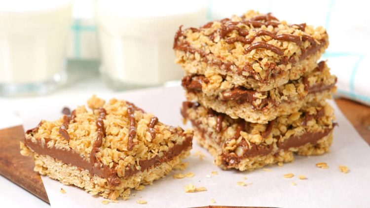 Sugar Free Chocolate Peanut Butter Oat Bars, Friday Night Snacks and More...